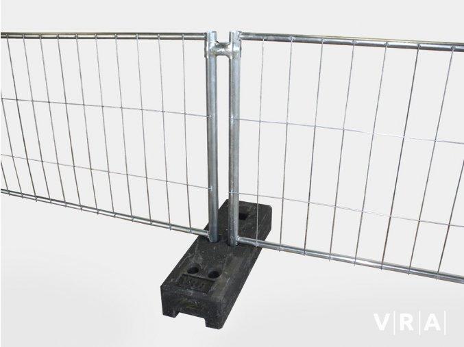 Mobilní oplocení - panel Nízký