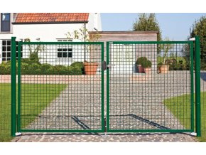 Dvoukřídlá brána FORTINET, šířka 3000 mm, výška 950 mm