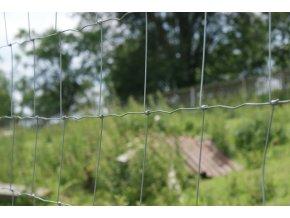 Uzlové pletivo výška 125 cm počet drátů 15/13, síla drátů 1,60x2,00 mm - 50 m