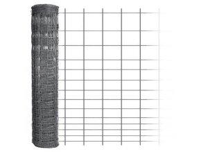 Uzlové pletivo výška 150 cm počet drátů 15/14 síla drátů 1,60x2,00 mm - 50 m