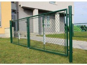 Zahradní brána Garden, šířka 3600 mm, výška 1000 mm