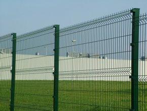 Sloupek jeklový (hranatý) 40x60 mm ZN + PVC  v. 1700 mm