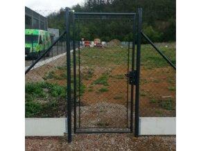 Zahradní brána Garden, šířka 1000 mm, výška 1600 mm