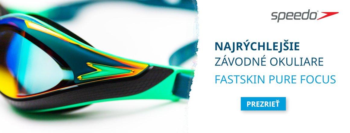Novinka! Plavecké okuliare Speedo Fastskin Pure Focus Mirror