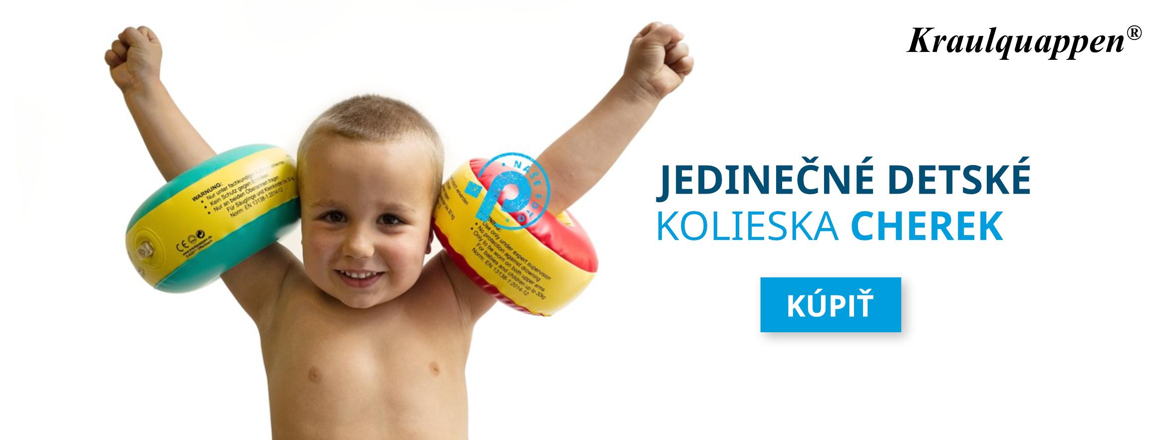 Jedinečné detské kolieska Cherek