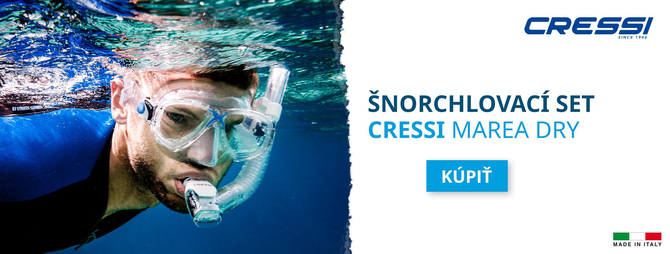 Šnorchlovacie sety Cressi