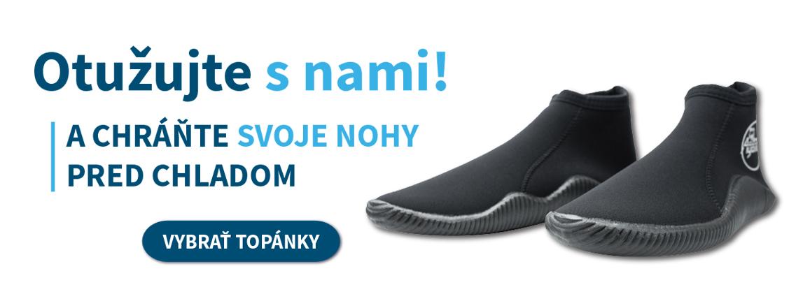 Chráňte svoje nohy pred chladom! Kompletná výbava na otužovanie - Plutvy.sk