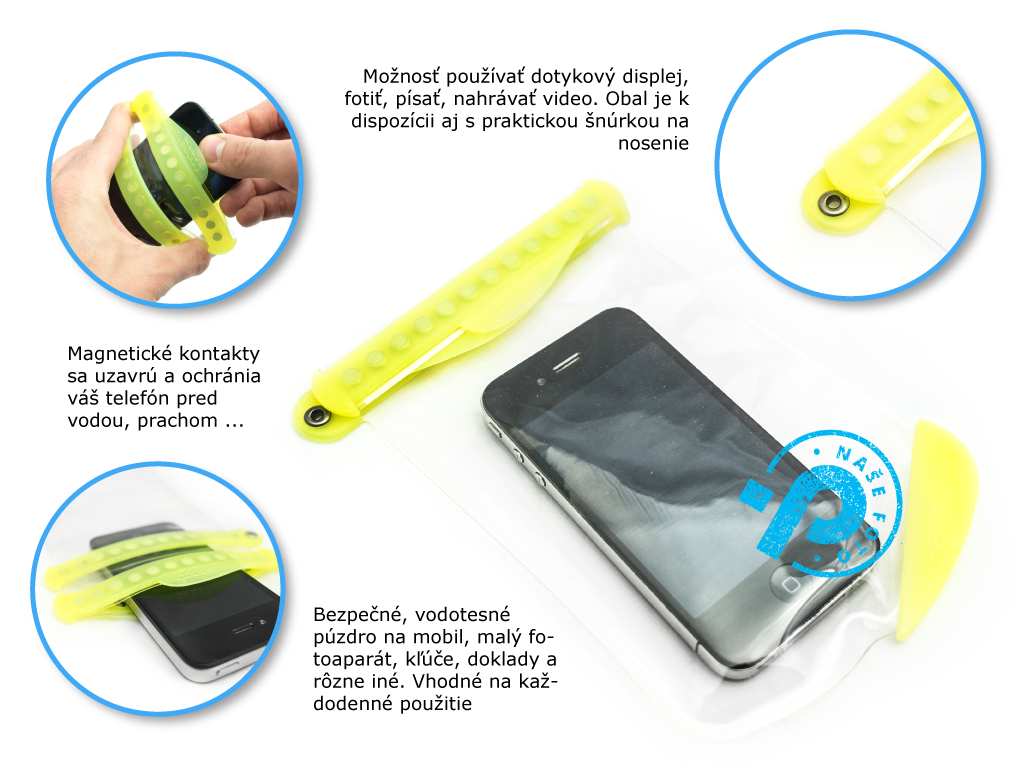 Gooper hermetic vodotesné púzdro na mobil, doklady, skúsenosti, recenzie, testy