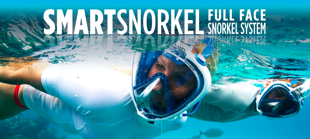 Aqualung Smart Snorkel celotvárová maska na šnorchlovanie, v obchode Plutvy.sk