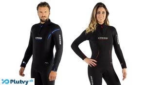 Teplý neoprénový oblek na potápanie v chladnej vode, Cressi Lontra Plus, v obchode Plutvy.sk