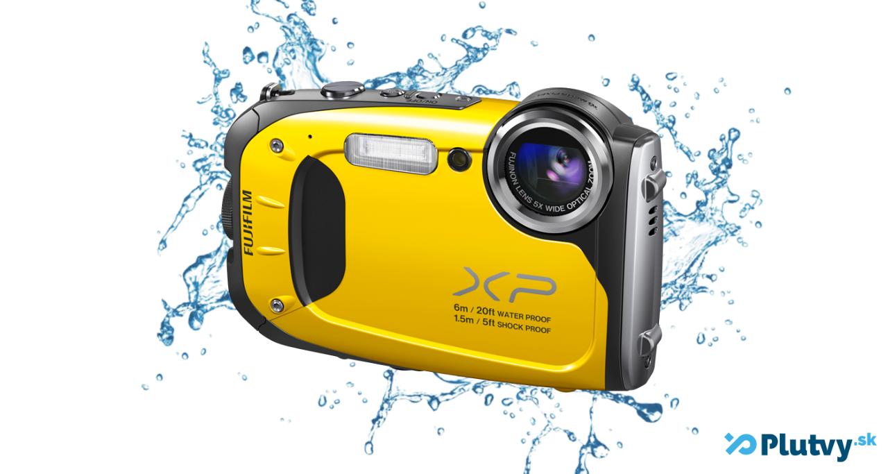 digitálny vodotesny fotoaparát fujifilm xp130 na šnorchlovanie, potápanie
