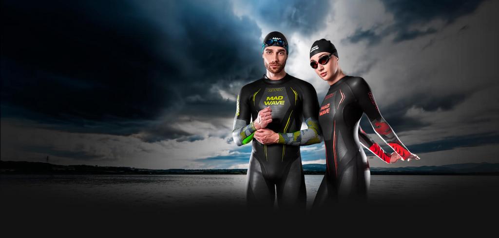 Mad Wave, špičkové neoprény pre triatlon a plávanie na otvorenej vode