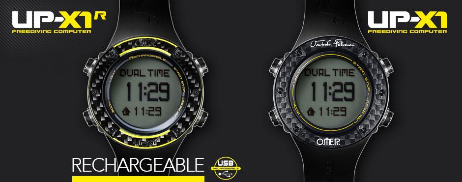 Omer up-x1 potapačské hodinky s meraním hĺbky, v obchode Plutvy.sk