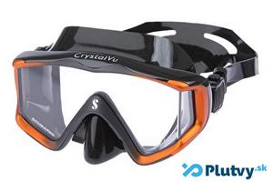 Scubapro Crystal Vu panoramatická potápačská maska s bočným výhľadom, v obchode Plutvy.sk
