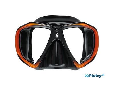 Scubapro Spectra maska pre potápača, čierna s oranžovou, v obchode Plutvy.sk