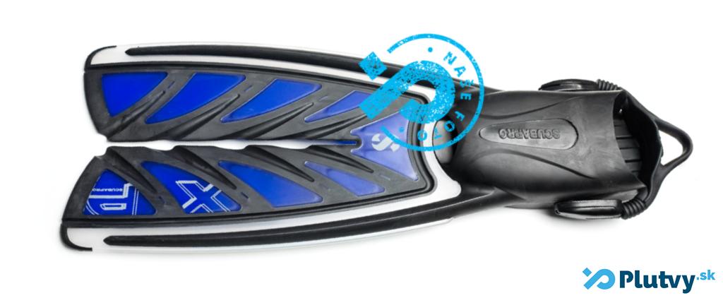 plutvy na potápanie s rozdeleným listom, Scubapro Split fin XP, v obchode Plutvy.sk
