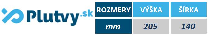 Tabuľka rozmerov pádla Speedo Fastskin od PLUTVY.sk