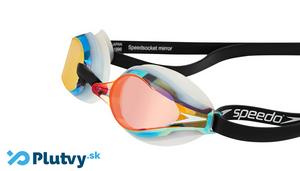 zrkadlové závodné okuliare pre plavcov a triatlonistov, Speedo Speedsocket 2, v obchode Plutvy.sk
