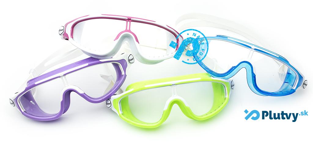 juniorská plavecká maska, okuliare do ktorých nezateká, v e-shope Plutvy.sk