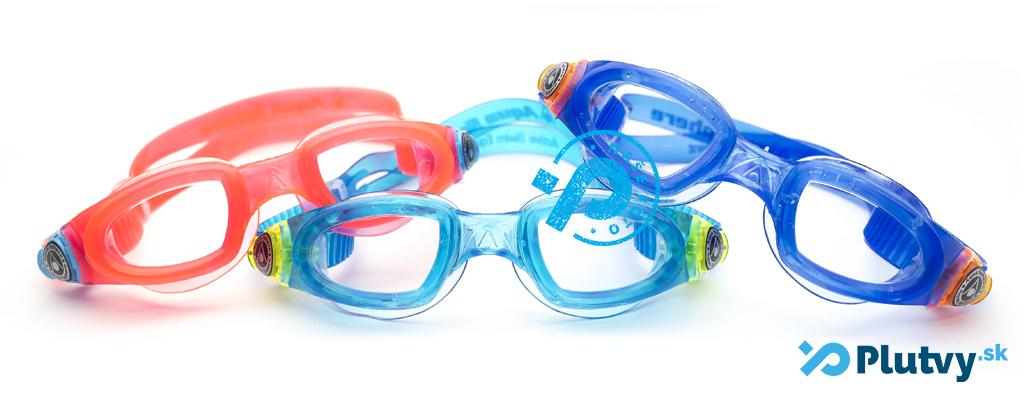 detské okuliare na plávanie, pekné, farebné, v obchode Plutvy.sk