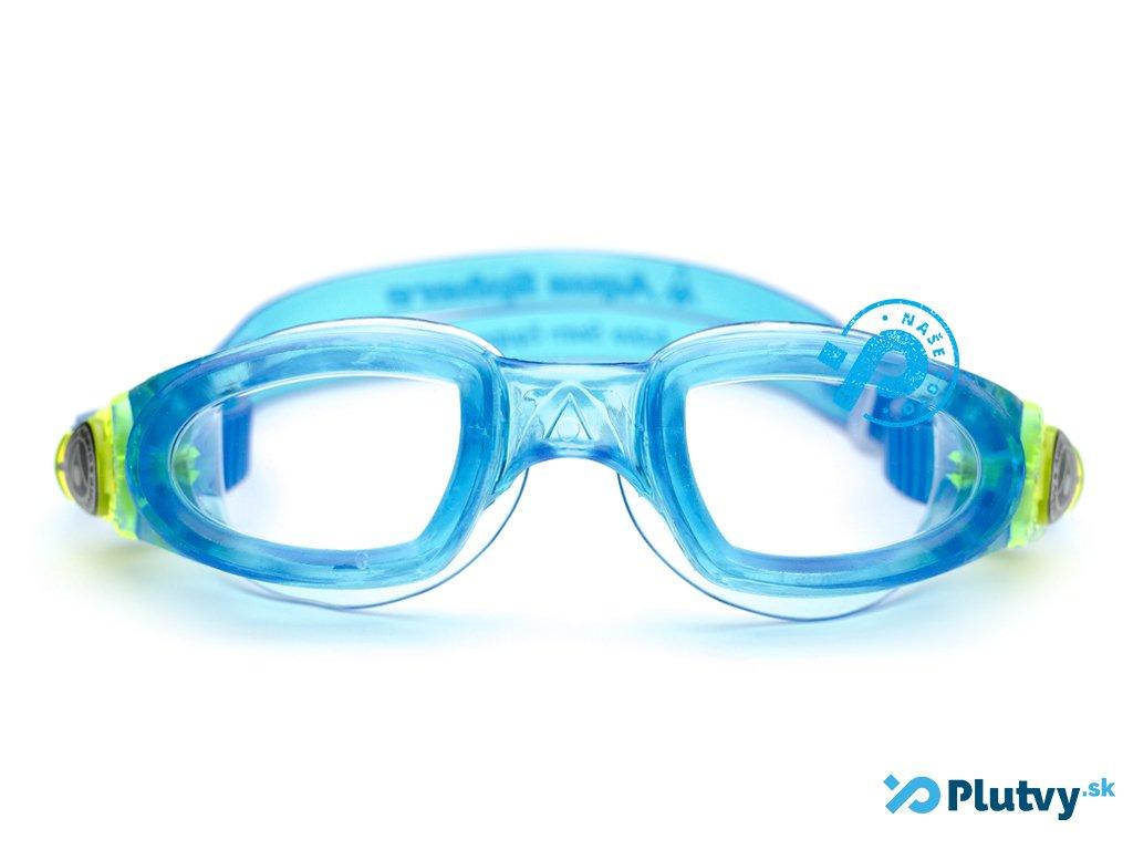 moby modre Detské plavecké okuliare Aqua Sphere Moby plavecke okuliare pre  deti ... e93c8838183