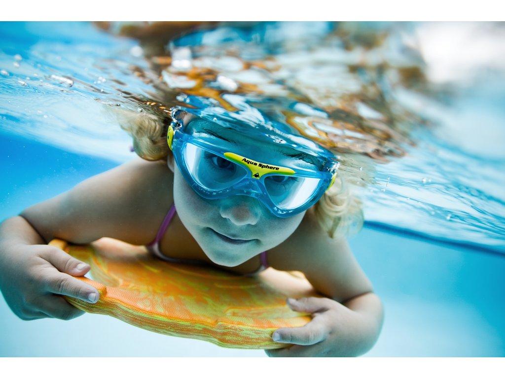 aeff762c8 Detská plavecká maska Aqua Sphere Vista Junior - Plutvy.sk