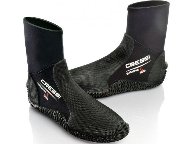 Neoprénové topánky Cressi Ultraspan 5mm