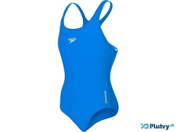 sportove plavky essential medalist neon blue