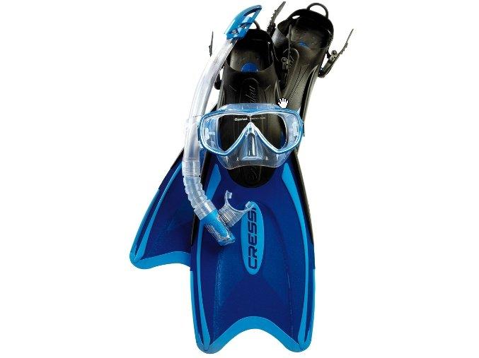Potápačský set Cressi Palau Bag