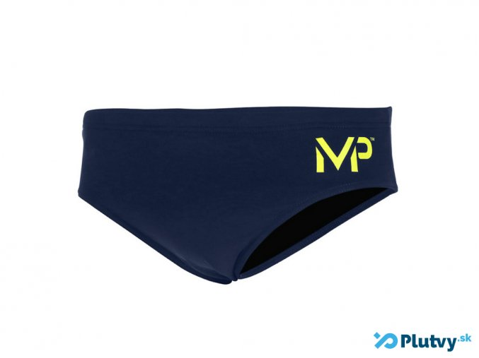 MP plavky solid blue brief 2