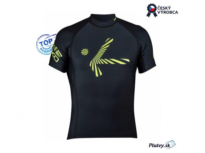 Funkčné tričko Hiko Shade Plush krátky rukáv