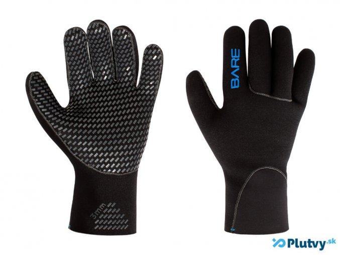 rukavice bare glove 2 mm plutvy sk
