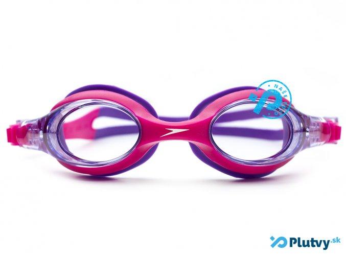 plavecke okuliare pre deti speedo sea squad skoogle ruzove