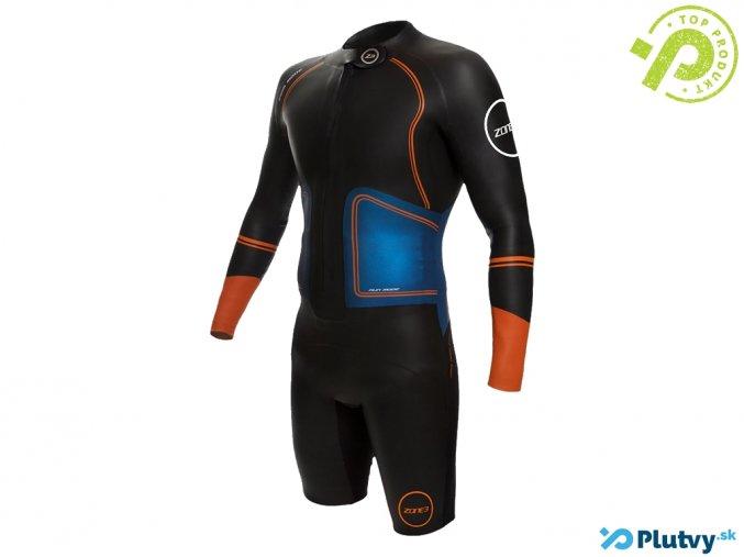 zone3 swimrun evolution triatlon oblek kratky pansky