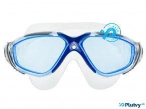 plavecka maska aqua sphere vista modre sosovky