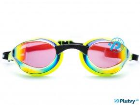 plavecke okuliare borntoswim elite zelene