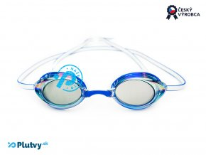born to swim okuliare mirror modre