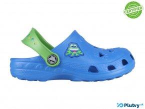 coqui chlapcenske crocsky sandale modre