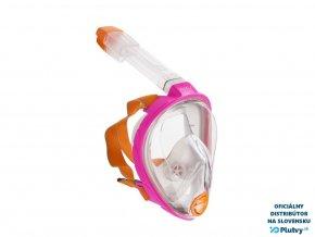 celotvarova maska ocean reef classic modra plutvy sk