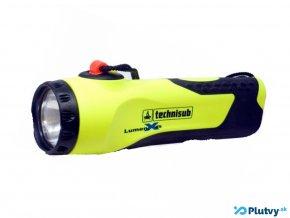 technisub lumen x6 potapacska vodotesna baterka