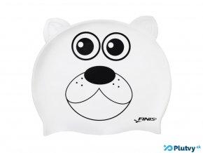 detska plavecka ciapka biely medved