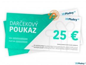 darcekovy poukaz 25 eur plutvy sk