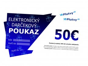 darcekovy poukaz 50 eur plutvy sk