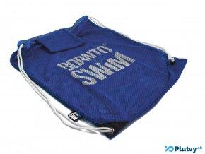 mesh bag velky plazovy vak modry borntoswim