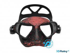 c4 falcon freediving maska cervena