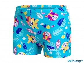 speedo jungle terry sortkove plavky chlapci