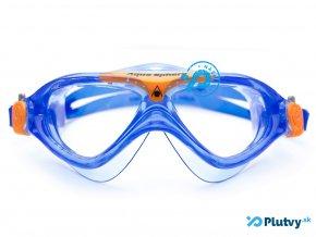 plavecka maska pre deti aquasphere vista junior modra