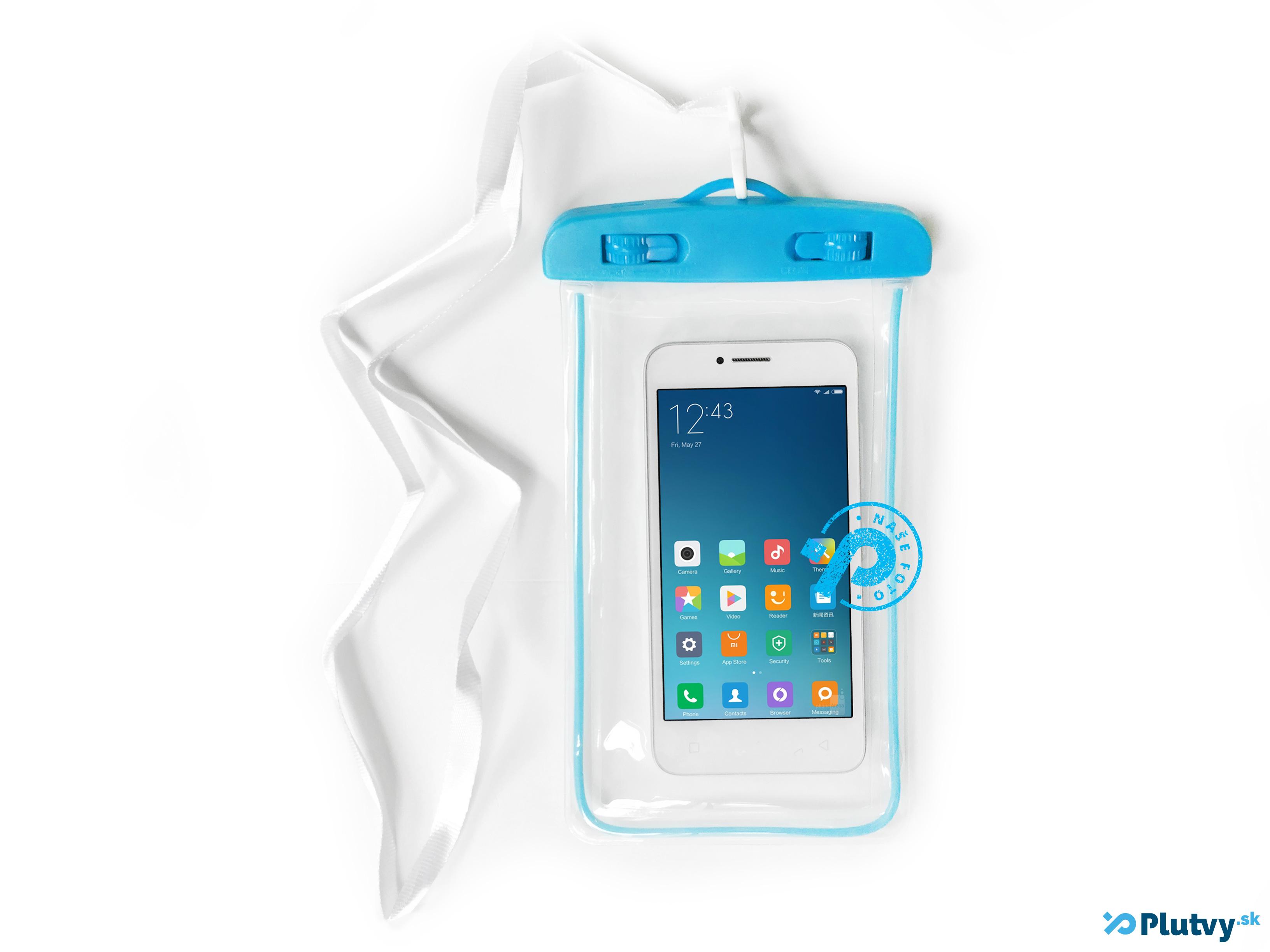 Vodotesný obal na mobil Holiday modrá