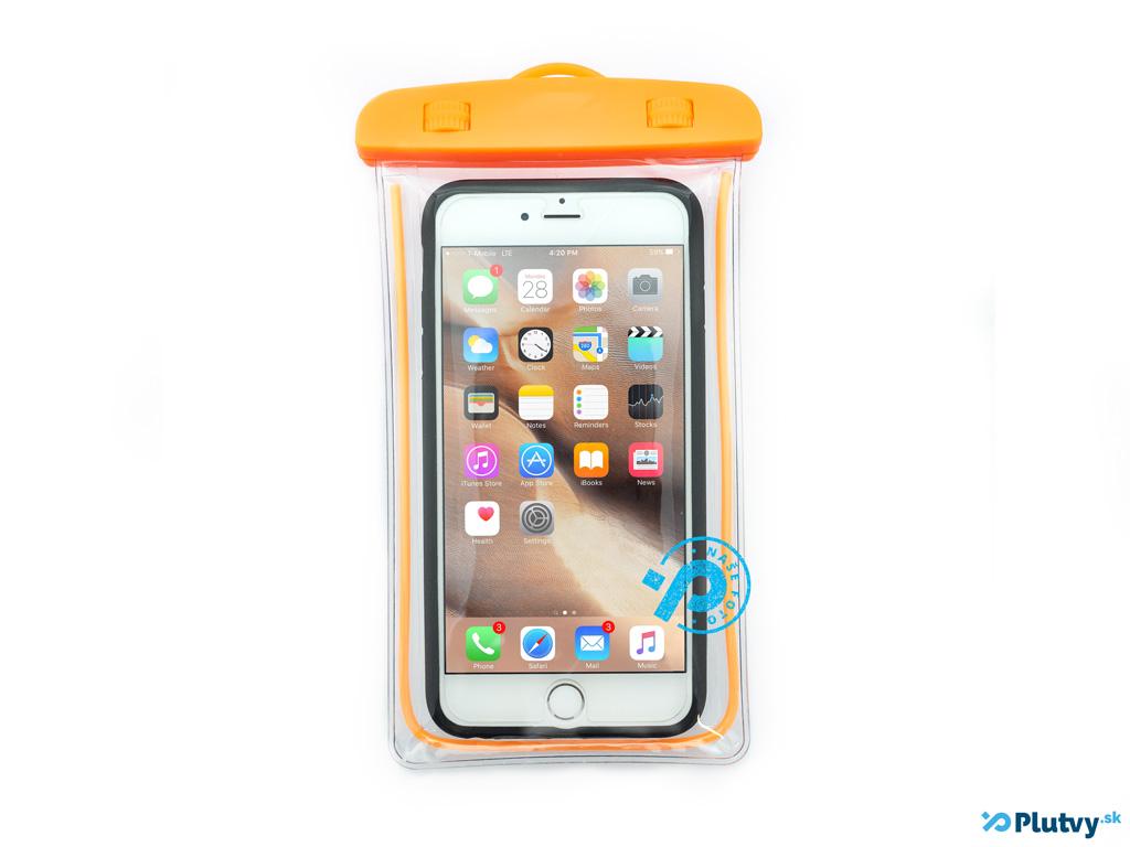 Vodotesný obal na mobil Holiday oranžová