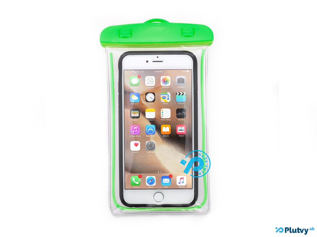 Vodotesný obal na mobil Holiday zelená